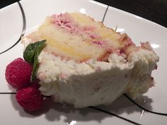 Lemon Raspberry Lovers Cake.. yummy.