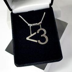 fabulous ascii heart necklace on etsy