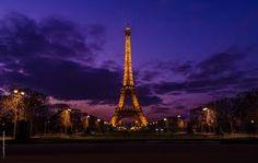 evening eifle tower - Google Search
