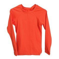 CAMISETA UV COLORS / Laranja Neon Camisa Uv, Neon, Long Sleeve, Sleeves, Sweaters, Mens Tops, T Shirt, Fashion, Orange