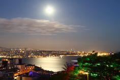 Moon over the Bosphorus (Istanbul) by Vlastimil MoDDO Vanek on 500px