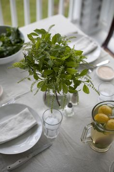 a daily something: Laying the Table For Dinner With PLATED