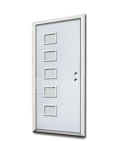 Residential Exterior Doors — Darpet Exterior Entry Doors, Steel Doors, Clear Glass, Locker Storage, Home Decor, Decoration Home, Room Decor, Interior Decorating