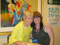Stacey with Shark Tank's Barbara Corcoran