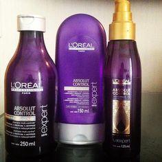 .@camila besestil Coelho | Tô amandooo esse trio! Shampoo, condicionador e Óleo da coleção #AbsolutContr... | Webstagram - the best Instagram viewer