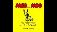 Childrens Stories read aloud, Meg and Mog by Helen Nicoll & Jan Pienkowski. Meg and Mog is a short fun book about a witch named Meg . Kids Stories Online, Stories For Kids, Witch Names, Read Aloud, Teaching Ideas, Good Books, Reading, Stories For Children, Reading Books