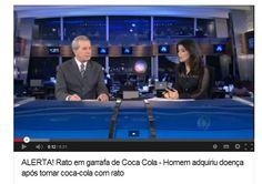 R7 Alerta: Rato em garrafa de Coca-Cola