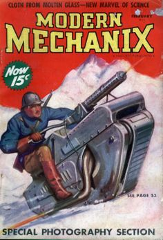 Modern Mechanix Magazine Cover