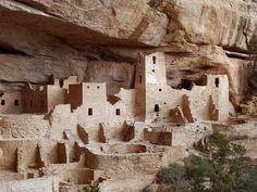 Mesa Verde National Park - Cliff Palace (1190 - 1260) http://www.sunsetbld.com/mesa-verde.php