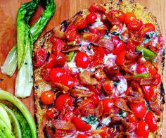 Homemade BLT Pizza