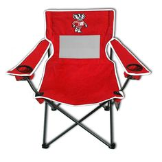 Wisconsin Badgers NCAA Ultimate Adult Monster Mesh Tailgate Chair