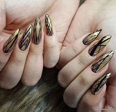 60 CUTE & LOVELY NAILS YOU NEED TO SEE - Reny styles Stiletto Nail Art, Beauty Nails, Nail Art Designs, Manicure, Cute, Shapes, Style, Design Ideas, Nail Bar