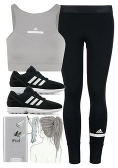 """Style #11132"" by vany-alvarado ❤ liked on Polyvore featuring adidas, adidas Originals and Belkin"