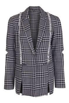 Check Blazer - Topshop: £65