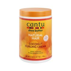 Cantu Shea Butter for Natural Hair Coconut Curling Cream, 25 Ounce Damp Hair Styles, Curly Hair Styles, Natural Hair Styles, Cantu Coconut Curling Cream, Coconut Cream, Cantu Shea Butter Leave In, Cantu Beauty, Cantu Shea Butter For Natural Hair, Essential Oils For Add