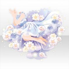 @trade | 雪解けを待つ蝶のアイテム一覧 Manga Clothes, Drawing Clothes, Pretty Outfits, Beautiful Outfits, Hair Sketch, Fantasy Gowns, Anime Expressions, Cocoppa Play, Themed Outfits