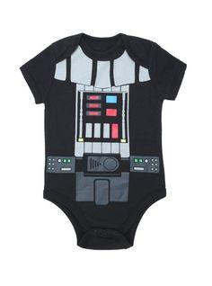 Body Bebê Star Wars Darth Vader Preto  - foto principal 1