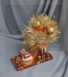 Все, что может пригодиться))): Туфелька из конфет