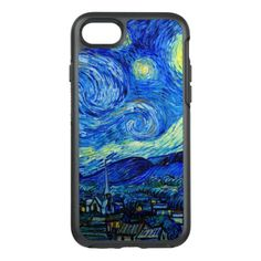 Starry Night by Van Gogh Fine Art OtterBox Symmetry iPhone 7 Case - click/tap to personalize and buy