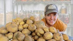 How I Store 200 lbs of Potatoes WITHOUT a Root Cellar - YouTube How To Store Potatoes, Storing Potatoes, Food Prep Storage, Potato Storage, Fresh Potato, Planting Potatoes, Pantry Essentials, Ways To Stay Healthy, Root Cellar