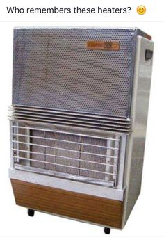 Remember the huge blue gas bottle that fitted onto the regulator inside the casing ? Provided excellent heat source that stayed long after the gas heater was turned off