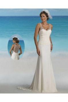 Beach Wedding Dress - $159
