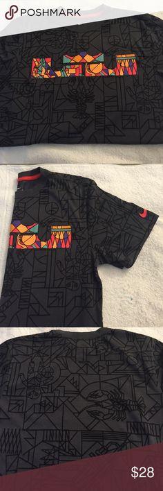 5ee52690b49e21 Nike Dri-Fit Tshirt Nike Dri-Fit King Lebron T-Shirt