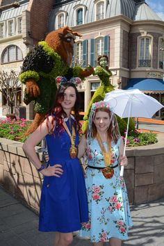 Beauty and the Beast Belle and Enchanted Giselle Disneybound Outfits Dapper Day