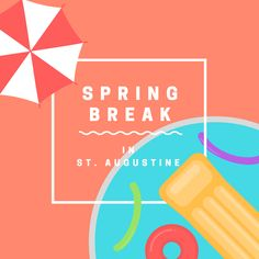 Top 10 Reasons to visit St. Augustine, Florida for Spring Break #StAugustine #Florida #vacation #springbreak #family  http://www.oldcity.com/10-reasons-to-visit-st-augustine-for-spring-break/