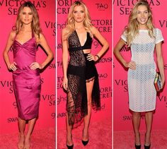 Victoria's Secret Fashion Show 2013-2014 Pink Carpet Fashion and After Party  #VS #models