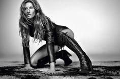 Gisele Bündchen by Paulo Vainer for Vogue Brazil May 2015