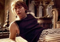 Not a candy boy. But totally in love with his acting #RupertGrint #RonWeasly