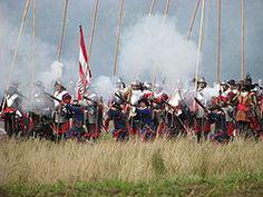 Tijdens de Slag om Grolle wordt de belegering van Groenlo nagespeeld door historische acteurs