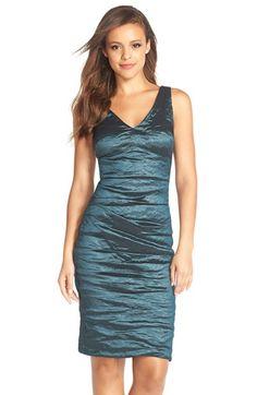 Nicole Miller Double-V Metallic Sheath Dress Sheath Dress, Bodycon Dress, Nicole Miller, Nordstrom Dresses, Formal Dresses, Metallic, Womens Fashion, Shopping, Spa