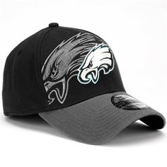 3d5c5a6ba New Era Philadelphia Eagles 39Thirty Classic Flex Hat - Black. Philadelphia  Eagles HatsPhiladelphia Eagles MerchandiseNfc East ChampionsEagles ...