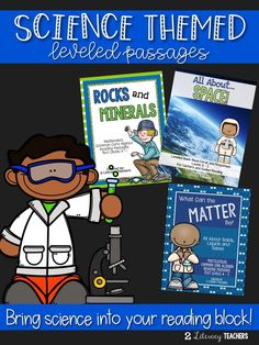 An easy way to bring science into your literacy block are these leveled passages and quick reads. Have all your students read the SAME content at THEIR reading level while teaching them science topics! Such an easy way to differentiate and layer your inst Science Topics, Science Resources, Reading Resources, Science Experiments Kids, Science Lessons, Teaching Science, Creative Teaching, Activities, Student Reading