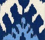 Quadrille // Kazak // Blue on Silk // 302830S