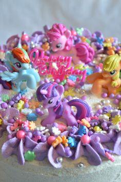 ultimate my little pony cake :)