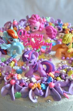 ultimate my little pony cake :)