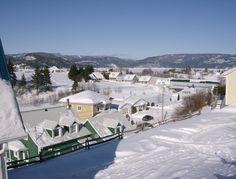 Pont couvert sous la neige - L'Anse-Saint-Jean Lac Saint Jean, Ski, Hockey, Saints, Canada, Culture, Mountain, Snow, Skiing