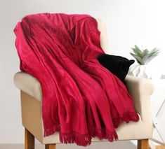 Ruby Luxury Throw - Super Snuggly - Shop for it Online Now. Luxury Throws, Delivery, Blanket, Shop, Color, Design, Colour, Rug