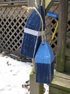 Hey, I found this really awesome Etsy listing at http://www.etsy.com/listing/127378543/ooak-reclaimed-wood-buoys-set-of-2-buoys