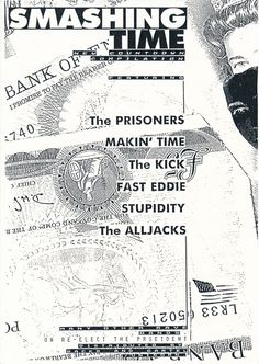 The Prisoners - 1987 V.A. Smashing Time Ad