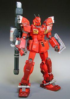 Custom Build: 1/100 Red Warrior - Gundam Unit 05 conversion - Gundam Kits Collection News and Reviews