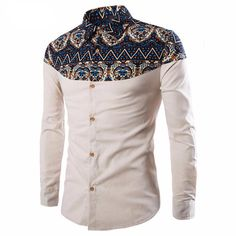 Cheap hommes shoes, Buy Quality shirts hawaii directly from China shirt set Suppliers: 2017 brand clothing Men Shirt Slim fit Plus size Male social masculina Casual Shirt chemise homme marque camisa hombre Formal Shirts, Casual Shirts For Men, Men Casual, Smart Casual, White Dress Pants, Mens Dress Pants, Dress Shirts, African Shirts, African Wear