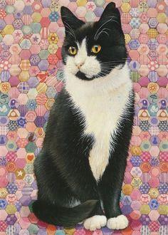 Lesley Anne Ivory* | *Chat * Cat * Illustrations * Art* | Pinterest