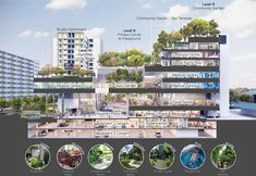 Contemporary Landscape, Landscape Design, Urban Design Diagram, Plate Presentation, Future Buildings, Folder Design, Rain Garden, Urban Architecture, Affordable Housing