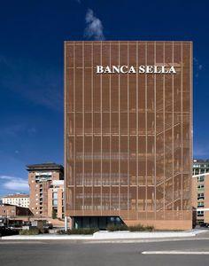 Banca Sella headquarter ¦ Biella, 2010 ¦ FBdA - Fabbrica di Architettura