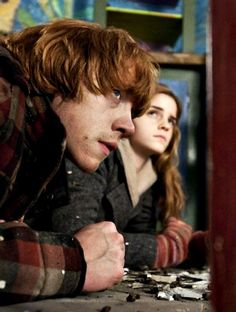 More Hermione and Ron