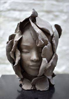 Great Photos Clay sculpture projects Tips Sculpture; Pottery Sculpture, Sculpture Clay, Abstract Sculpture, Pottery Art, Ceramic Sculptures, Stone Sculptures, Pottery Painting, Watercolor Leaf, Portrait Sculpture